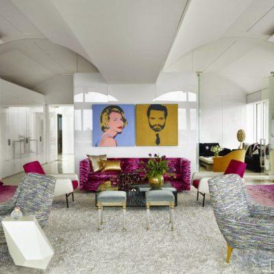 Thinking Pink: A Palm Beach Penthouse