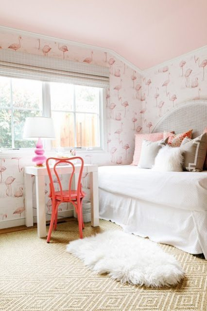 Pink flamingo day for Cute bedroom ideas for 10 year olds