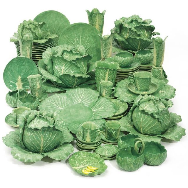 e0b158e5de2 C.Z. Guest s Collection of Dodie Thayer Lettuce Ware at Sotheby s - The  Glam Pad