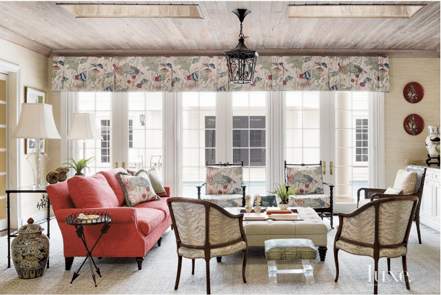 Luxury Luxe magazine recently featured this beautiful Regency style Palm Beach home transformed by interior designer Gil Walsh I love the classic detail