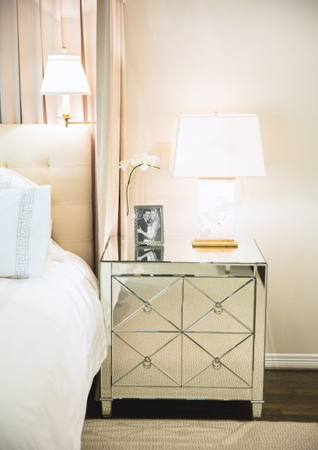 Marvelous This glamorous white mirrored bedroom is an absolute dream