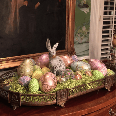 Herend Bunnies for Easter