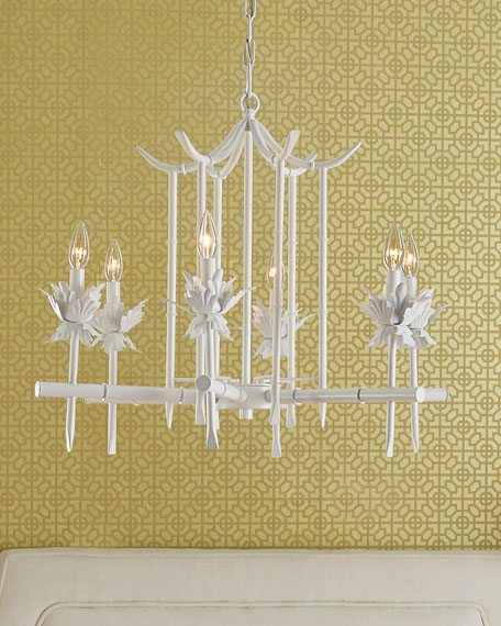 Bamboo pagoda chinoiserie chandelier the glam pad bamboo pagoda chinoiserie chandelier aloadofball Choice Image