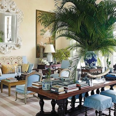 Inside Bunny Williams's Island Retreat