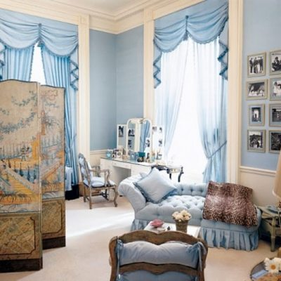 Jacqueline Kennedy's White House Bedroom