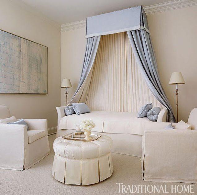 Bedroom Elegance Dublin: Breathtaking Blue And White In Chicago