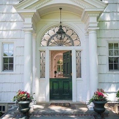 A Pretty and Preppy Home in Greenwich, Connecticut