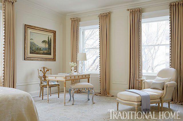 Elegant Draperies Master Bedroom The Glam Pad