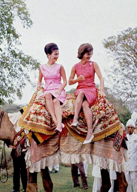 db895c265ee1 jackie-kennedy-jackieo-lee-radziwill-camel-india-pink - The Glam Pad