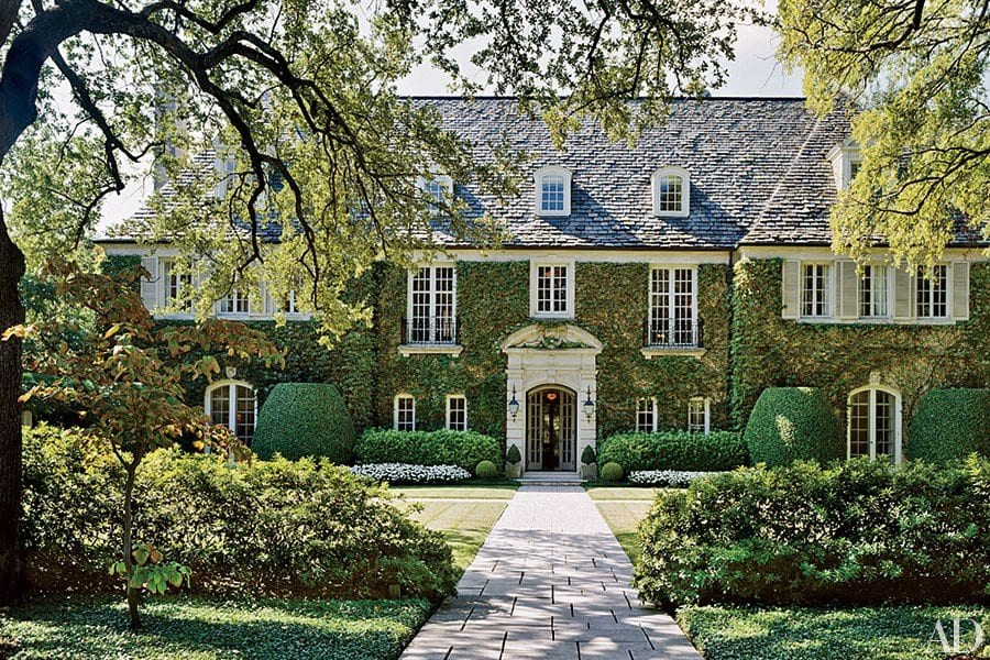 A 1920s Dallas Home, Via Architectural Digest. Nice Look