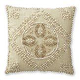 Hand-Sewn Shell Pillow
