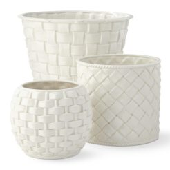 Woven Basket Cachepot