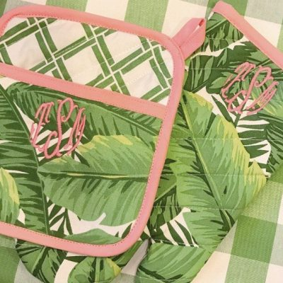 Banana Leaf Oven Mit & Pot Holders