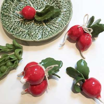 Handmade Porcelain Vegetables