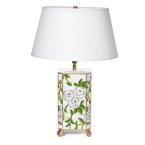 Dana Gibson Chintz Table Lamp