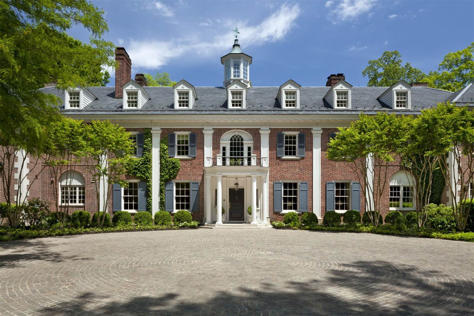 Jacqueline kennedy dc mclean virginia home for sale for Georgian style homes for sale