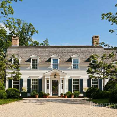 A Historicaly Inspired Dutch Colonial by Gil Schafer