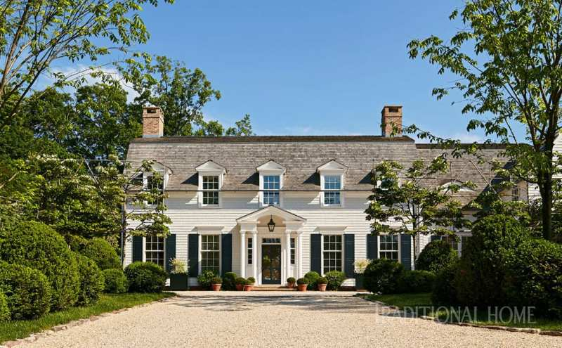 A Historicaly Inspired Dutch Colonial By Gil Schafer The