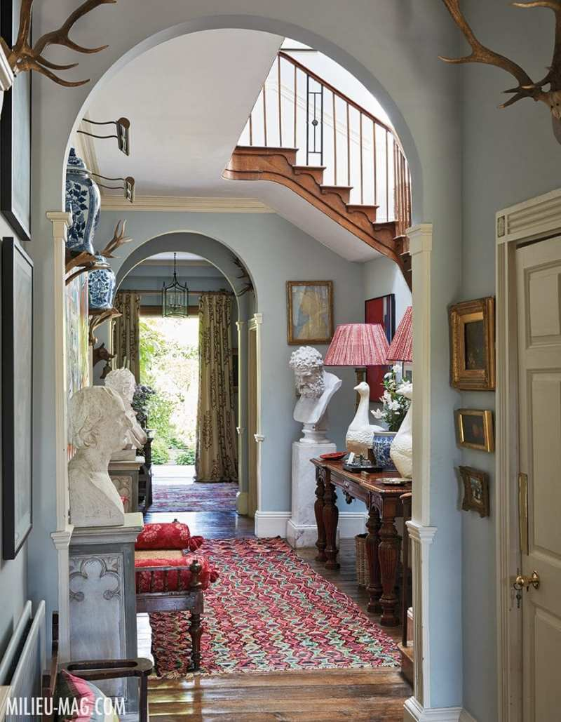 Inside penny morrison s 18th century welsh country home - Country homes and interiors pinterest ...