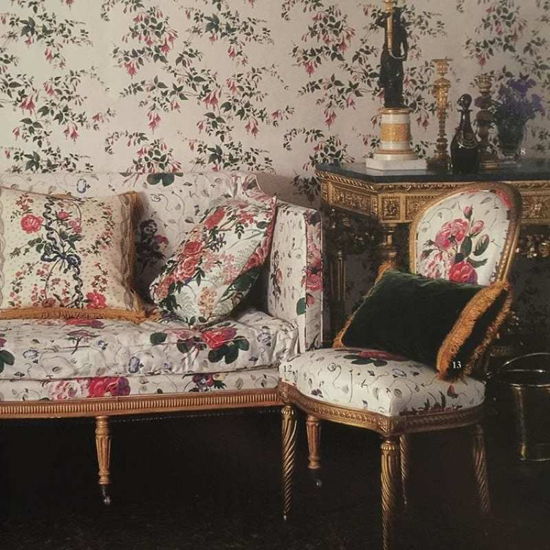Colefax And Fowler S Classic Fuchsia Chintz The Glam Pad
