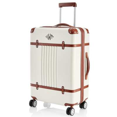 Monogrammed Suitcase