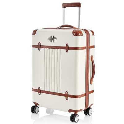 Monogrammed Suitcase