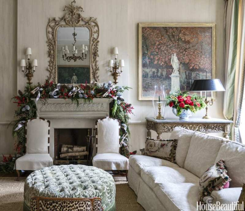 Colorful Rooms Moss: Seven Christmas Decorating Ideas From Charlotte Moss