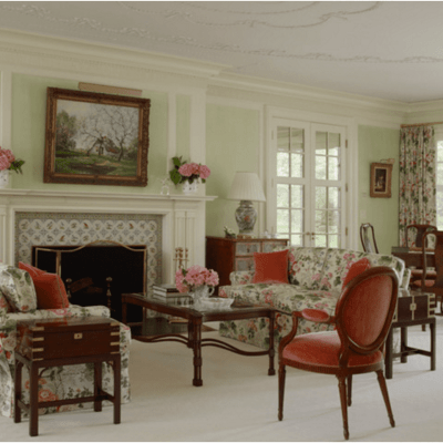 A Carefully Restored Connecticut Colonial Revival