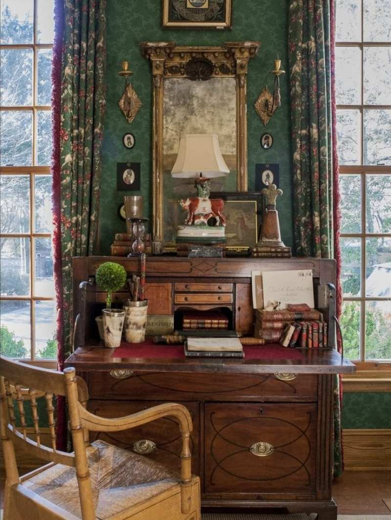 mahogany-secretary-regency-chair-federal-mirror-linda-kay-mcCloy-a-little-english
