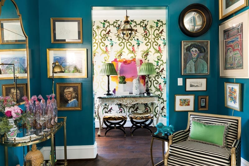 Power-of-Pattern-mallory-mathison-glenn-singeries-schumacher-lacquered-walls