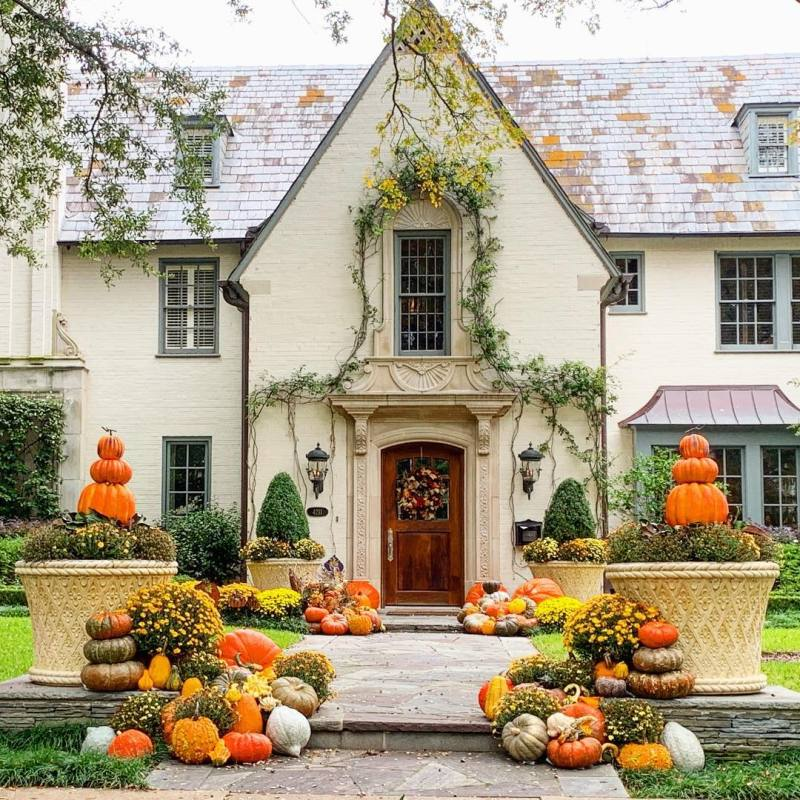 80 Elegant Ways To Decorate For Fall The Glam Pad
