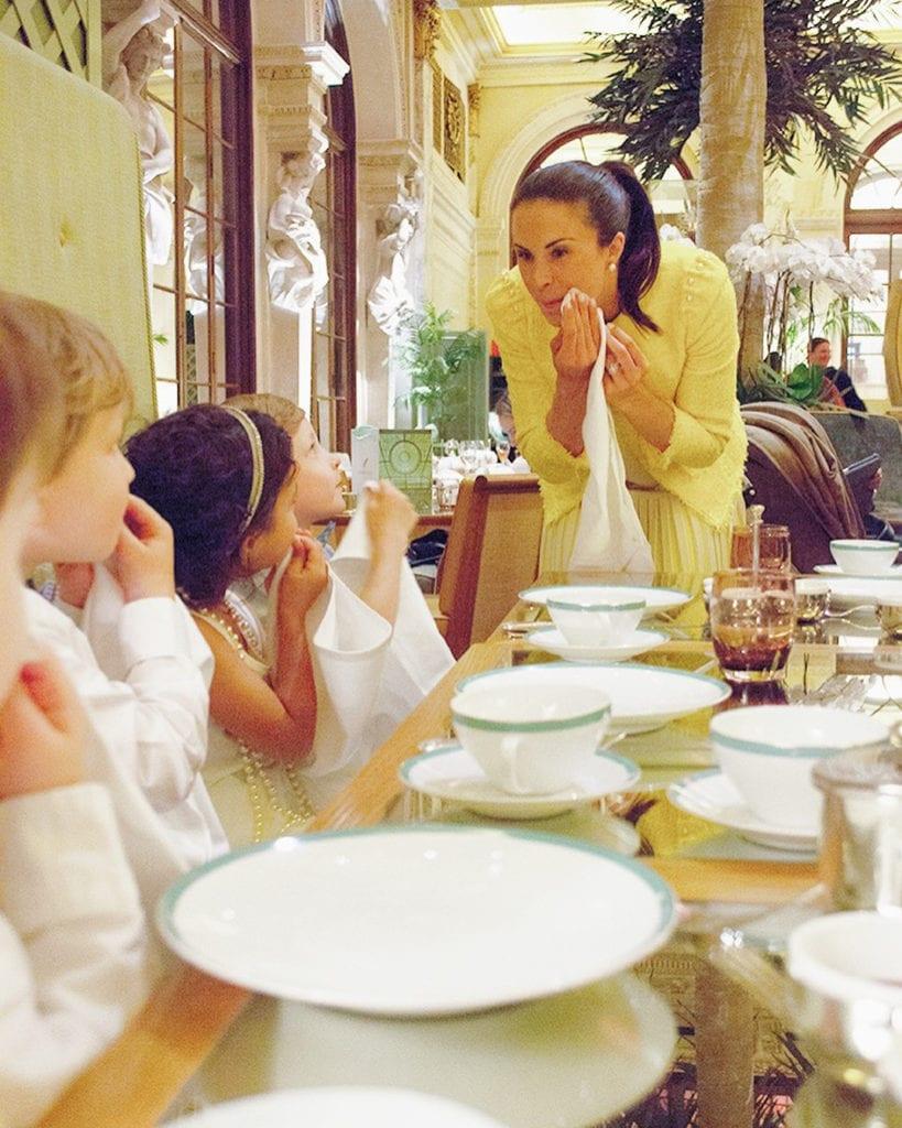 Myka Meier The Plaza Hotel Childrens Manners Class Table Eloise