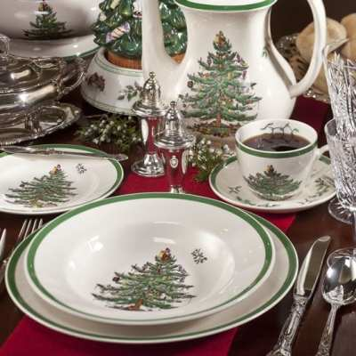 Christmas Tree Spode, A Holiday Tradition