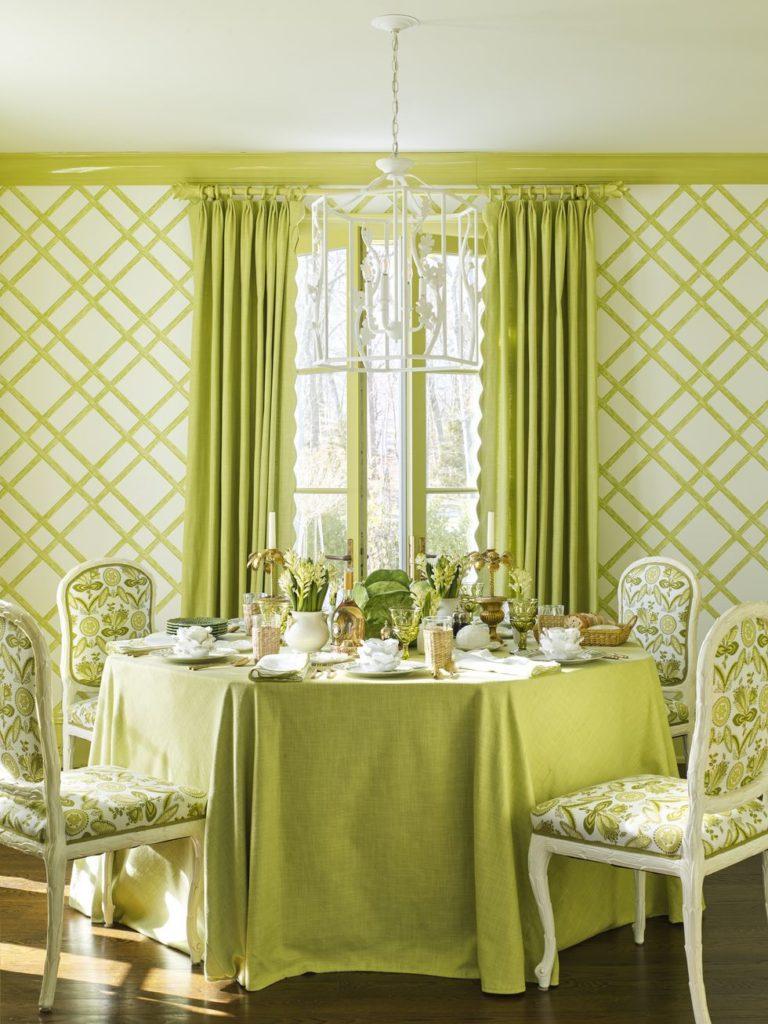 Benjamin Moore Georgian Green meg-braff-long-island-breakfast-room-veranda-sweet-daphne