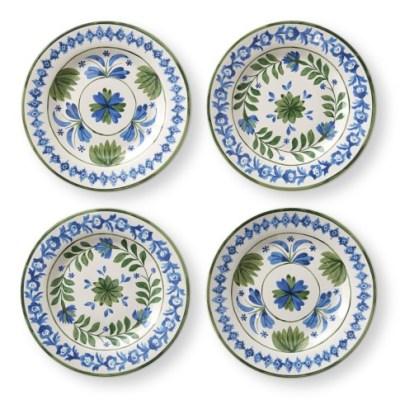 Blue and White AERIN Plates