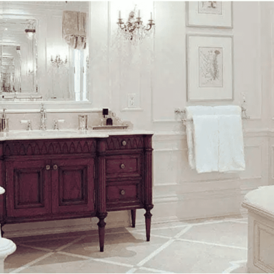 40 Ways to Decorate with Antique Furniture in the Bathroom