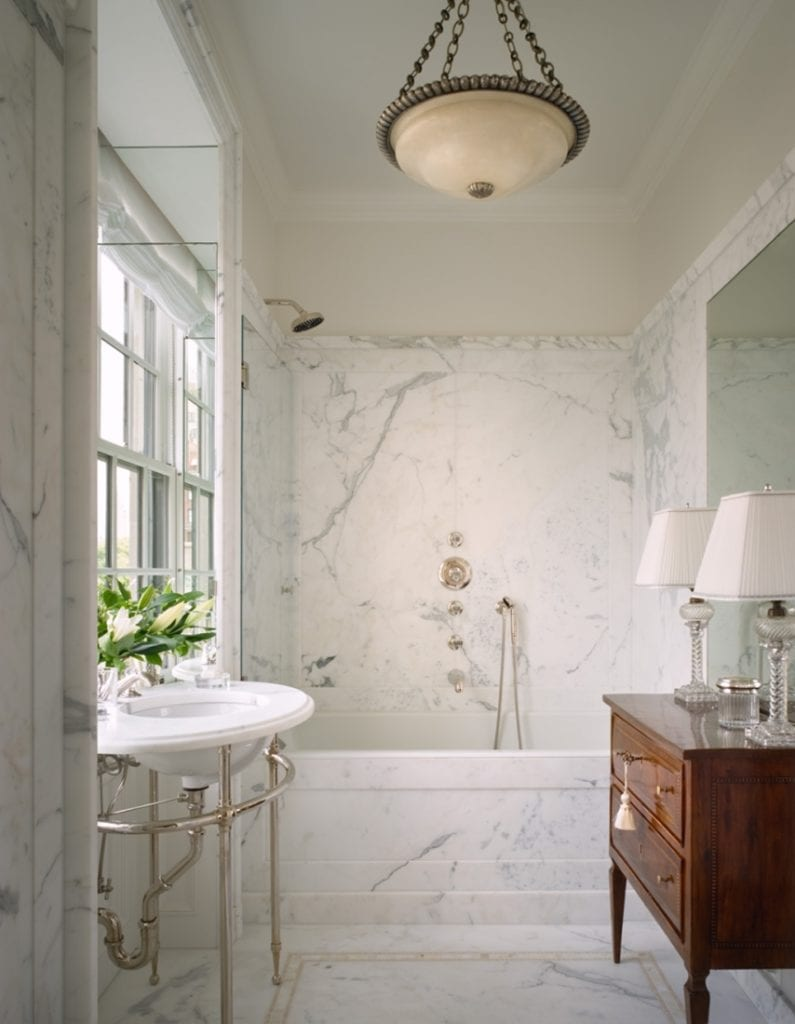 10 Ways to Decorate with Antique Furniture in the Bathroom - The