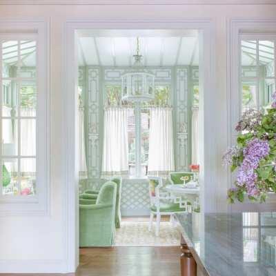 A Dallas Home with Tropical Parisian Flair