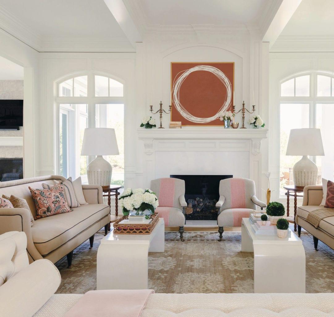 Bria Hammel Living Room Kayce Hughes Art The Glam Pad