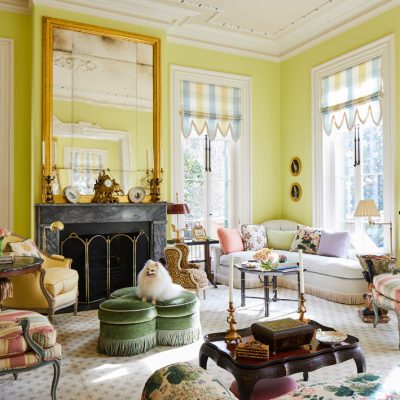 A Fresh Look Inside Patricia Altschul's Charleston Home
