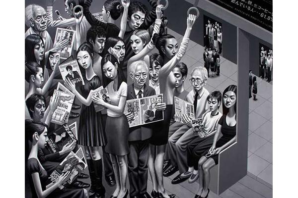 Tokyo Subway by Carl Randall