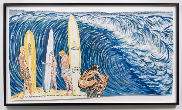 pettibon_untitled (when the surf)_2008 copy
