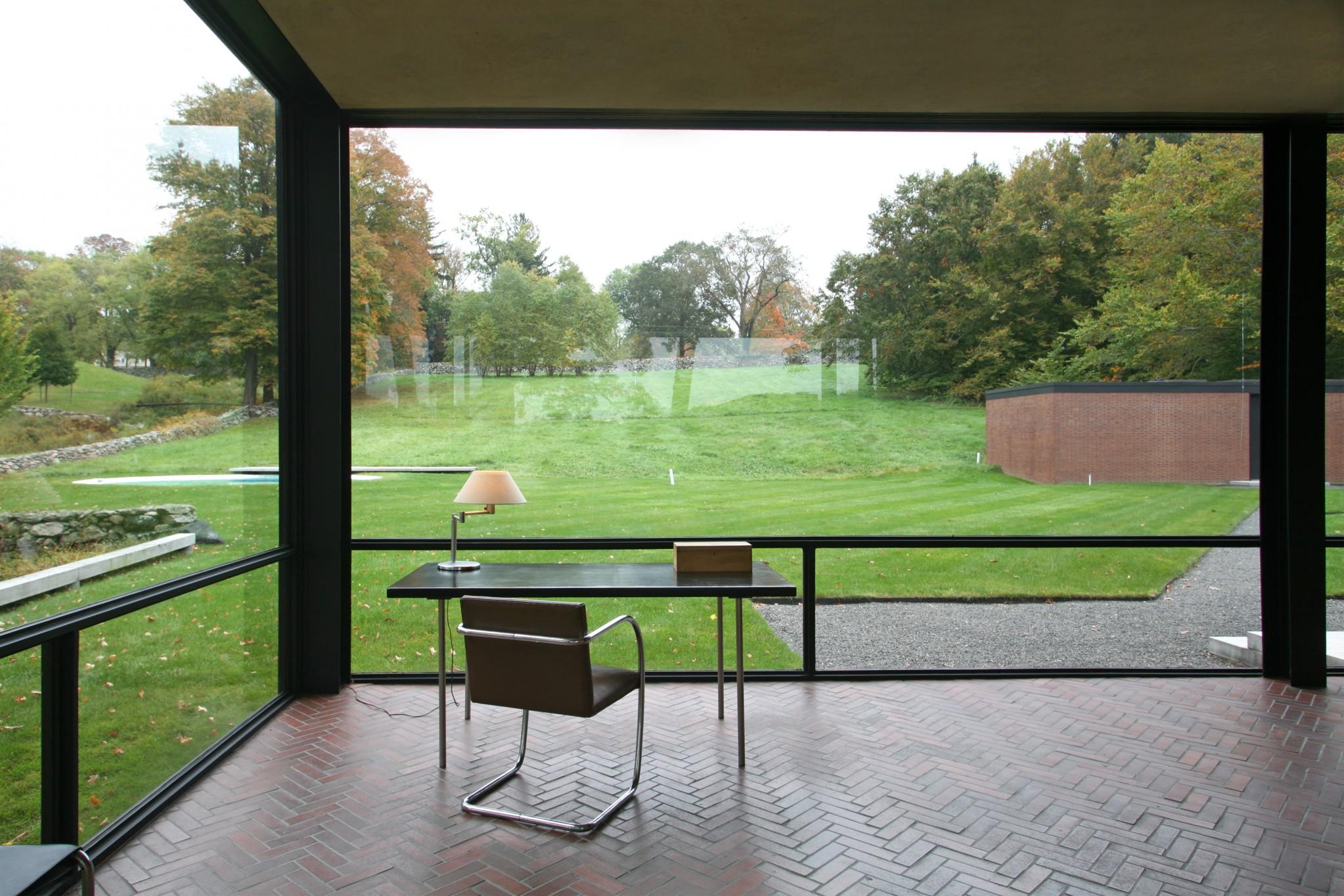 Philip Johnson Glass House an arcadian vision – glass visits philip johnson's glass