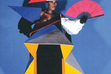 Jean-Paul Goude and Antonio Lopez, Maternity dres for Grace Jones, 1979