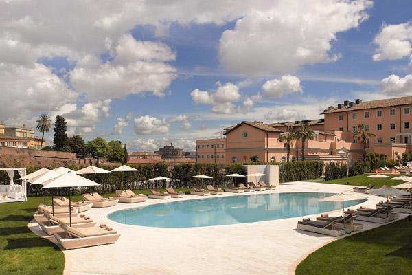Gran Melia Rome Villa Agrippina Pool