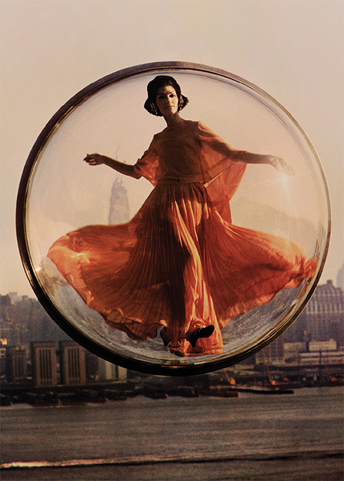 Over New York, 1963, Simone d'Aillencourt