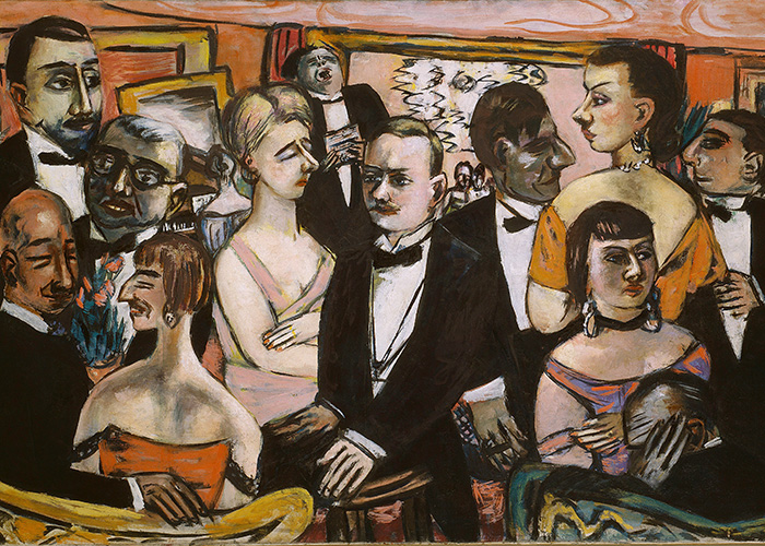 Max Beckmann in New York Beckmann Paris Society Solomon r.Guggenheim Museum New York