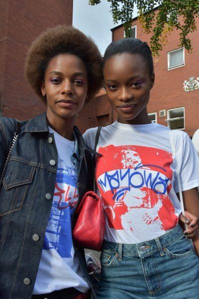Karly Loyce and Mayowa Nicholas