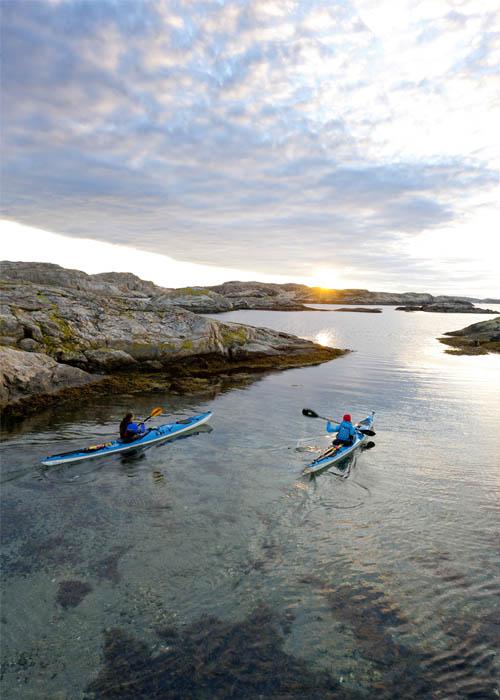 Kayaking in Sweden - Photo Henrik Trygg