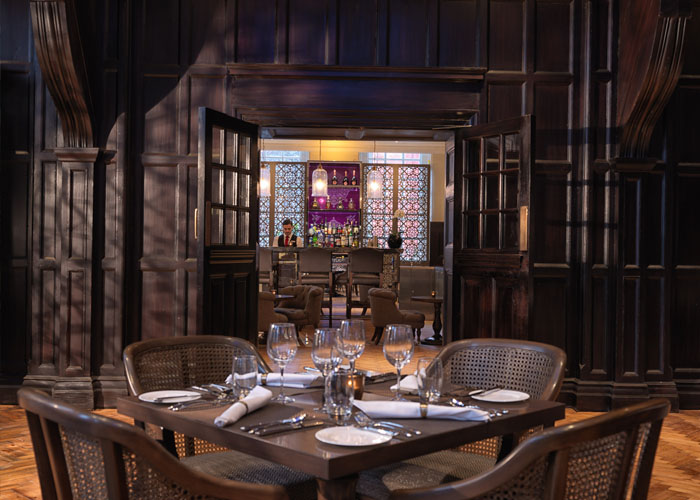 Baluchi at The Great Hall (restaurant) Le Grand Bellevue